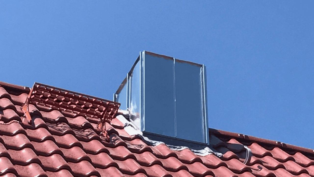 Bauklempnerei Beispiel der Altländer Dachdecker GmbH